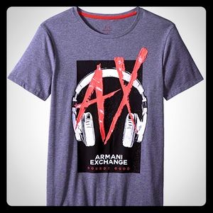 NWOT, Armani Exchange Men's Graphic Tee, Large New
